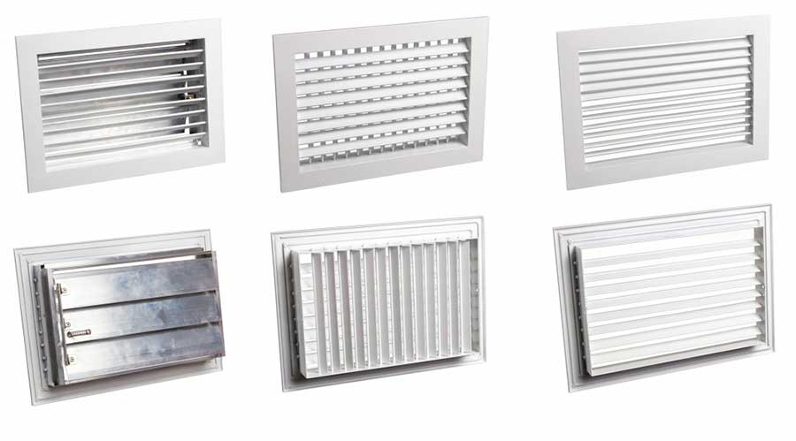 виды металлических вентиляционных изделий