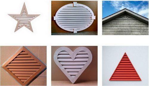 декоративные металлические элементы вентиляции