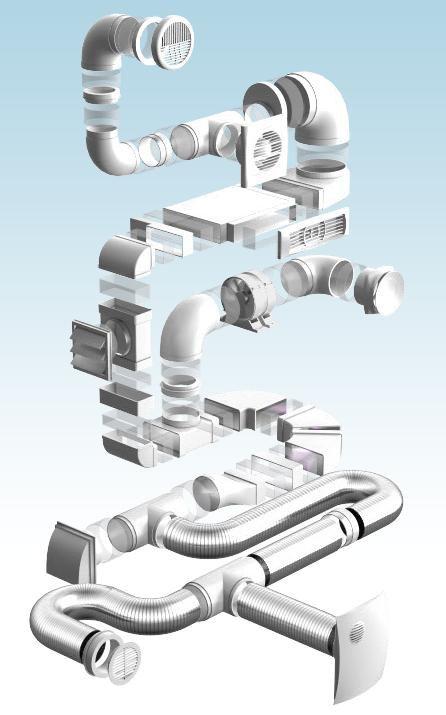 схема пластиковой вентиляции