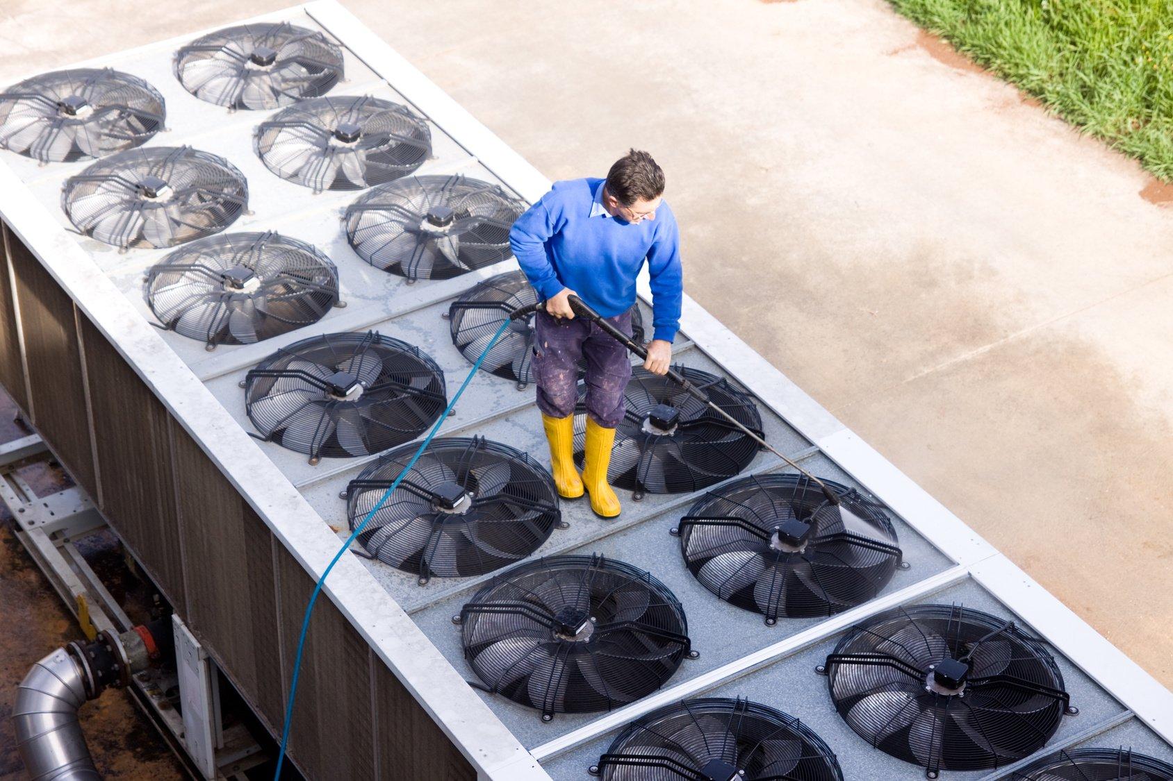 чистка промышленной вентиляции
