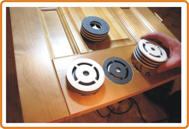 вентиляционные дверные клапаны