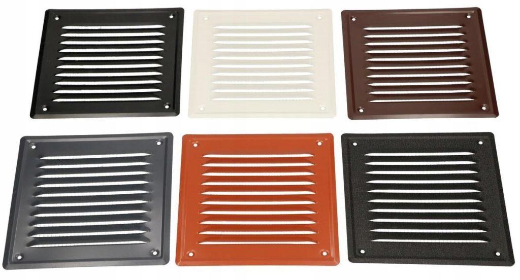 вентиляционные металлические решетки