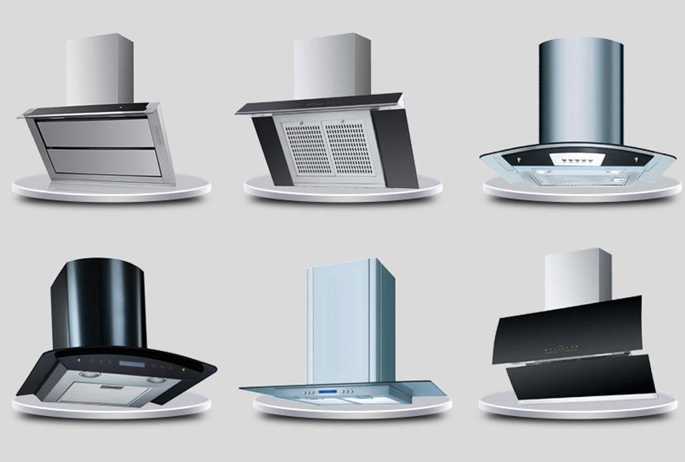 разнообразие кухонной вентиляции