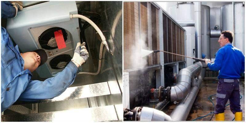 ремонт и чистка вентиляционной системы