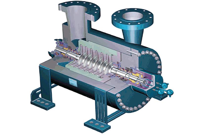 устройство центробежного компресора