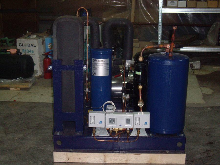промышленный чиллер для охлаждения воды