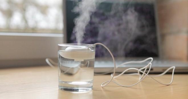 способ для увлажнения воздуха увлажнителем