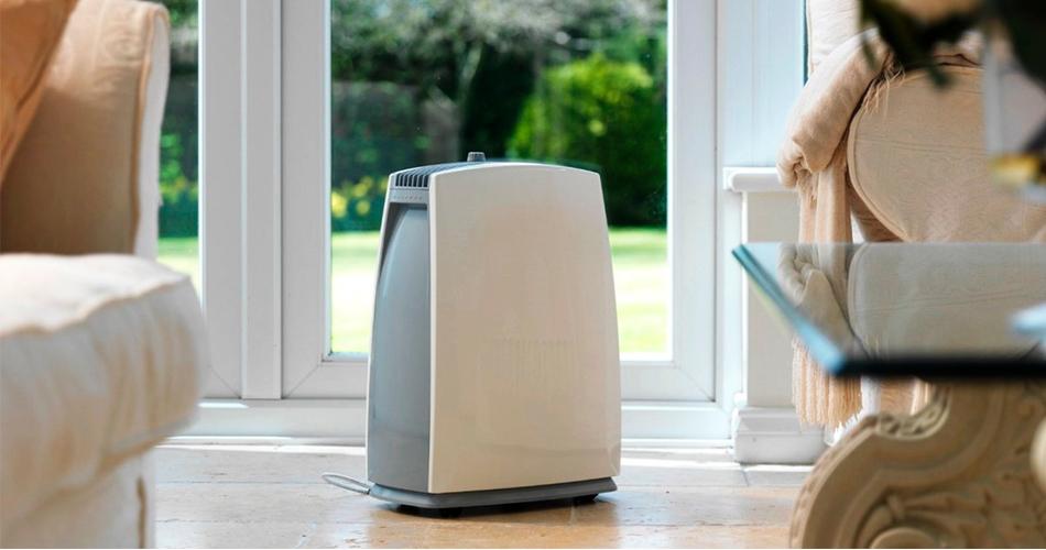 Осушитель воздуха стоит в доме