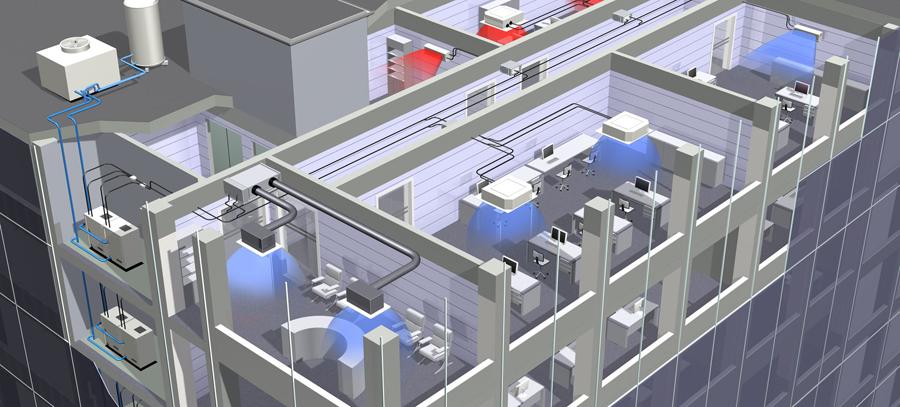 Мульти сплит-система в офисе