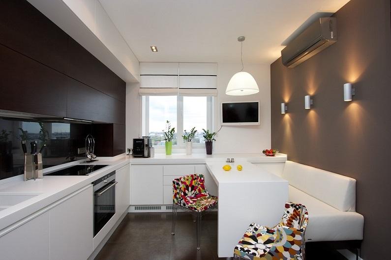 Кухня с кондиционером