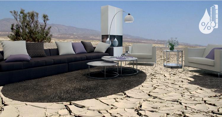 Мебель в пустыне