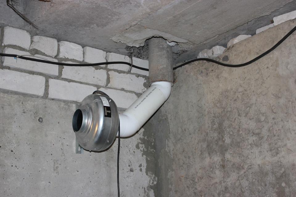 осушитель воздуха в подвале
