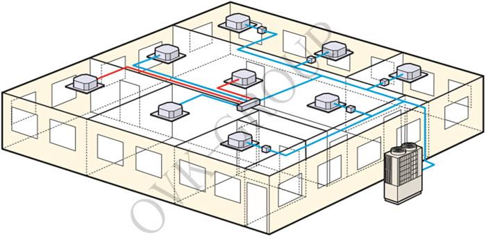 Мультизональная система в здании