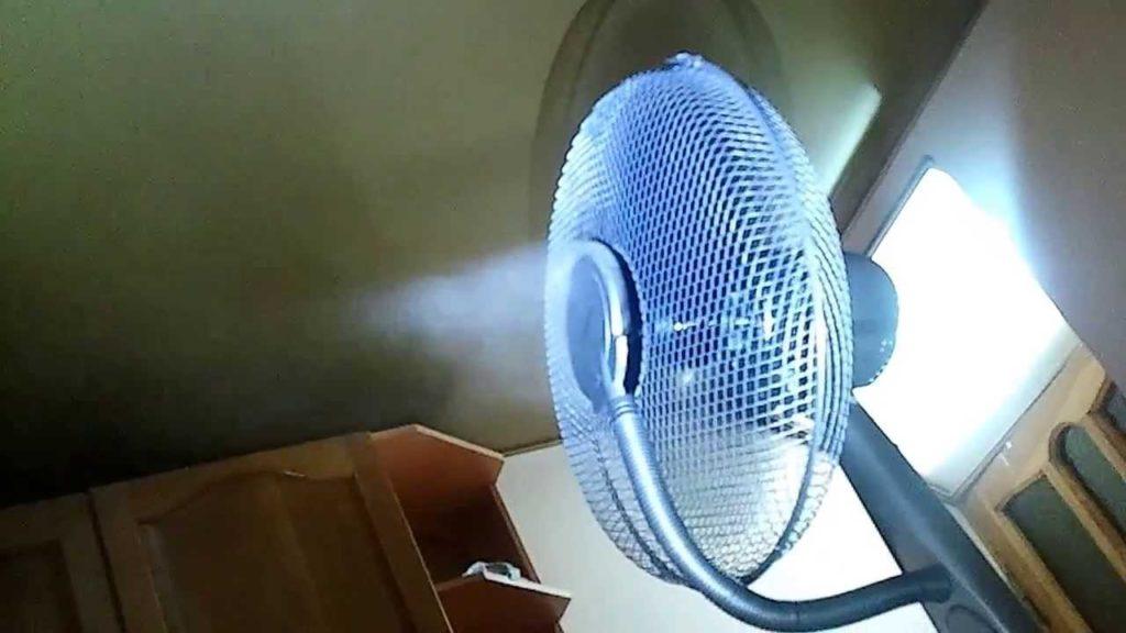 Вентилятор-увлажнитель напольный