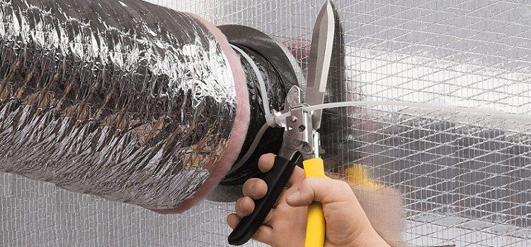 Монтаж утепленной вентиляционной трубы