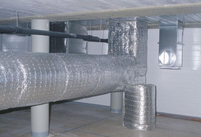 Утепленная вентиляционная труба