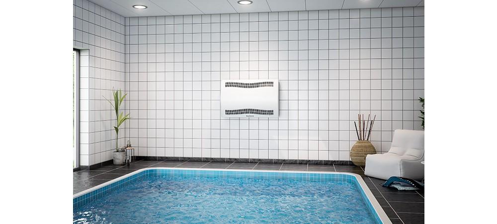 Настенный осушитель воздуха в бассейне