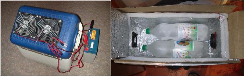 Водяной кондиционер сделанный самостоятельно