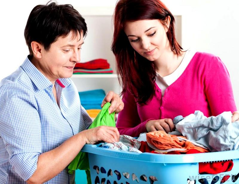 Вынос одежды на сушку