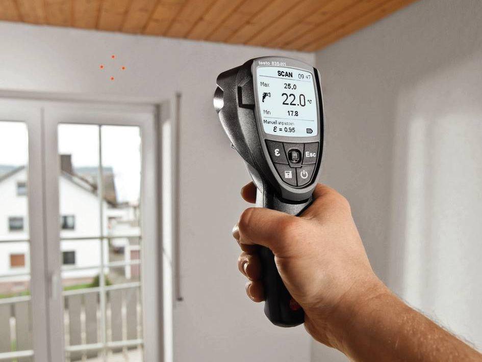 Измерение температуры в квартире