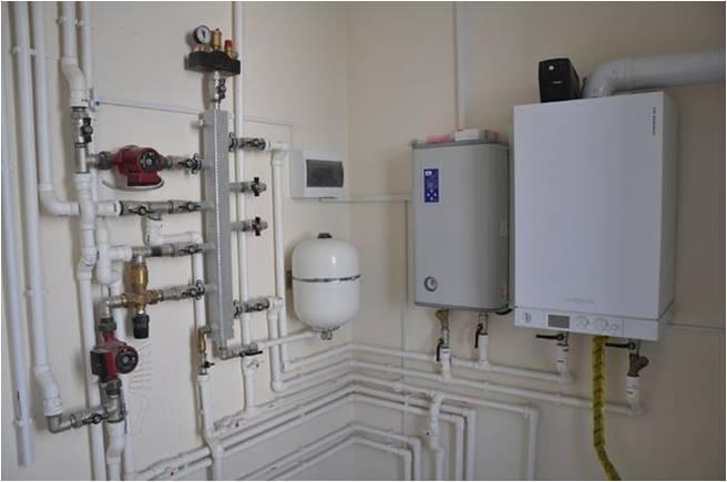 Совместное использование газового и электрического котла