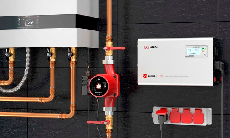 Система управления газовым котлом