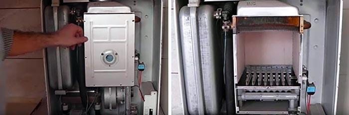 Очищенный газовый котел