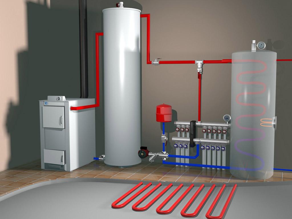 Капитальная система отопления