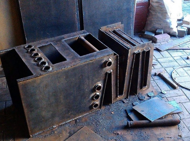 Самодельные котлы отопления на дровах