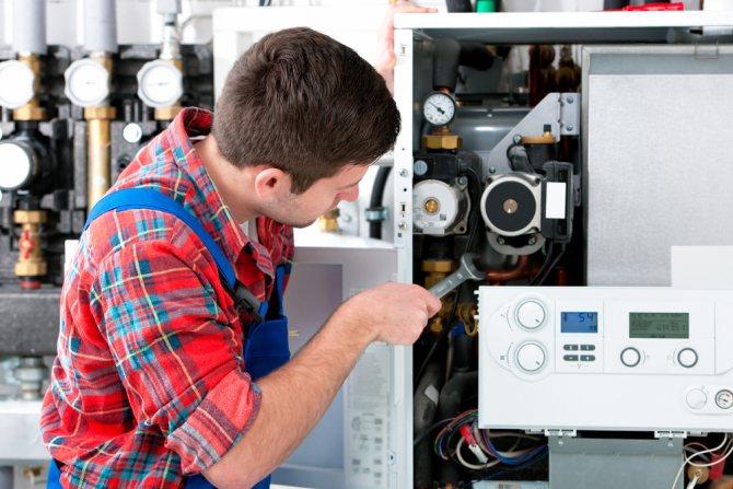 Причины затухания горелки в газовом котле и алгоритм их устранения